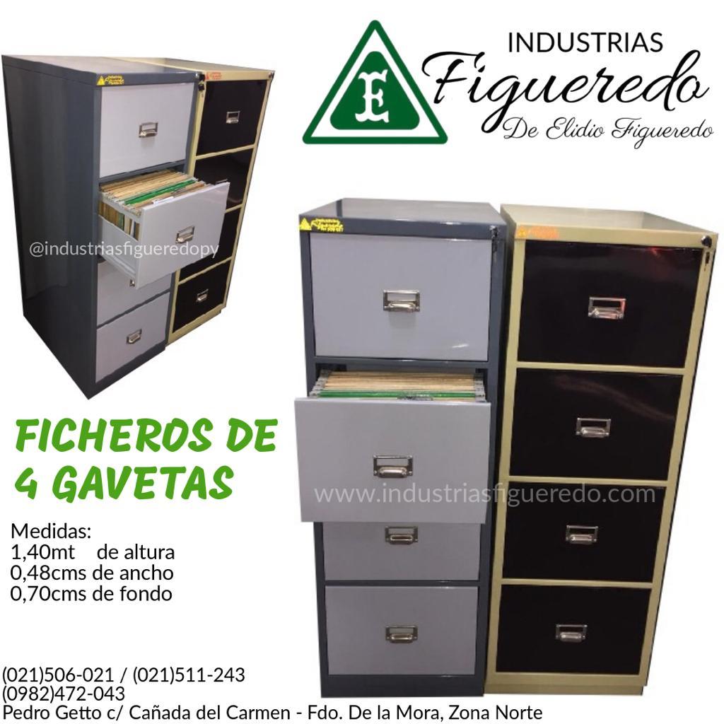 FICHERO DE 4 GAVETAS