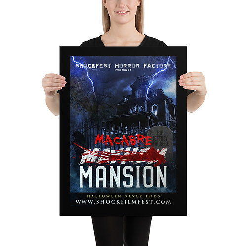 Macabre Mansion Poster