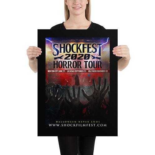 Shockfest Tour Poster
