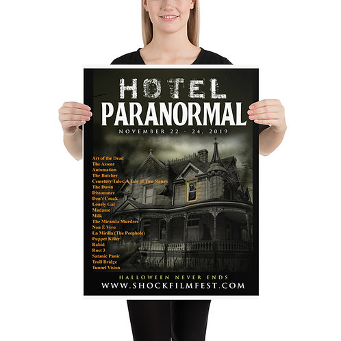 Hotel Paranormal Poster