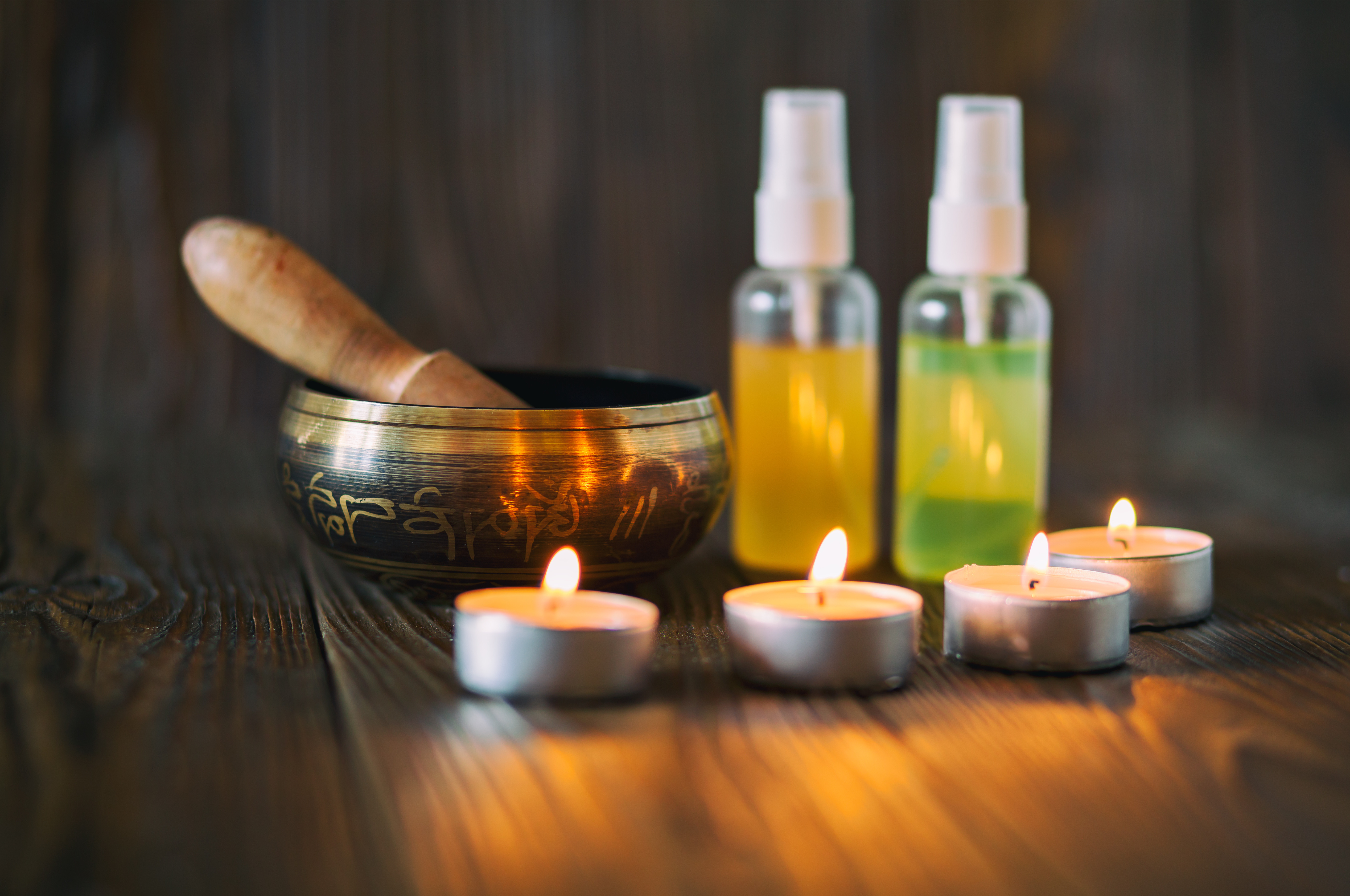 Reiki + Sound & Aromatherapy