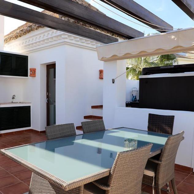 Dach Terrasse