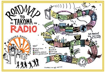Roadmap to Takoma Radio