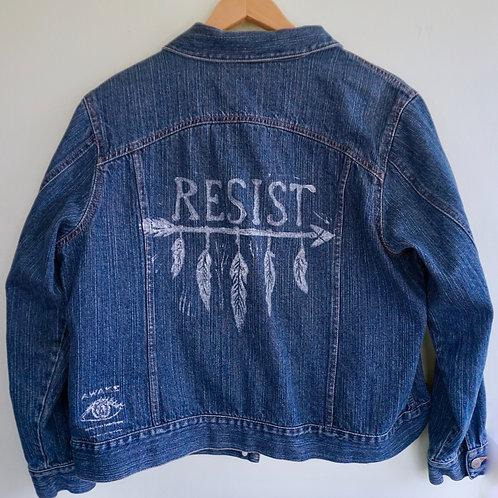 Resist Jean Jacket