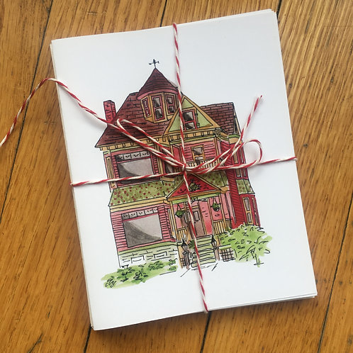 House Greeting Cards