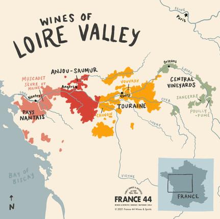 Wines of Loire Valley