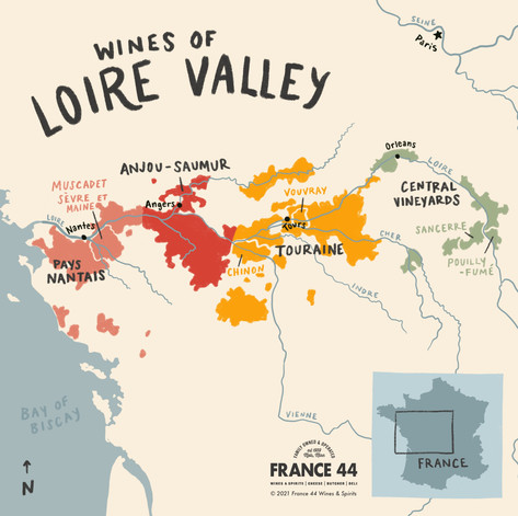 Wines of Loire Valley