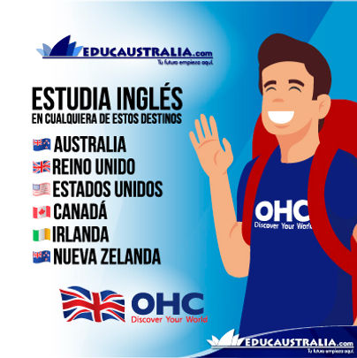 Estudia Ingles en Cualquier Destino