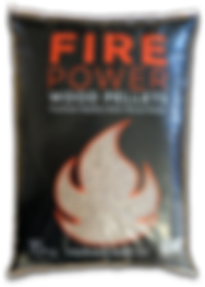Fire power wood pellets