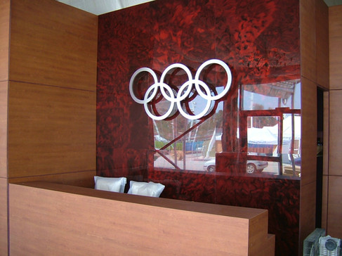 Olympic Hospitality Design and build London 2004