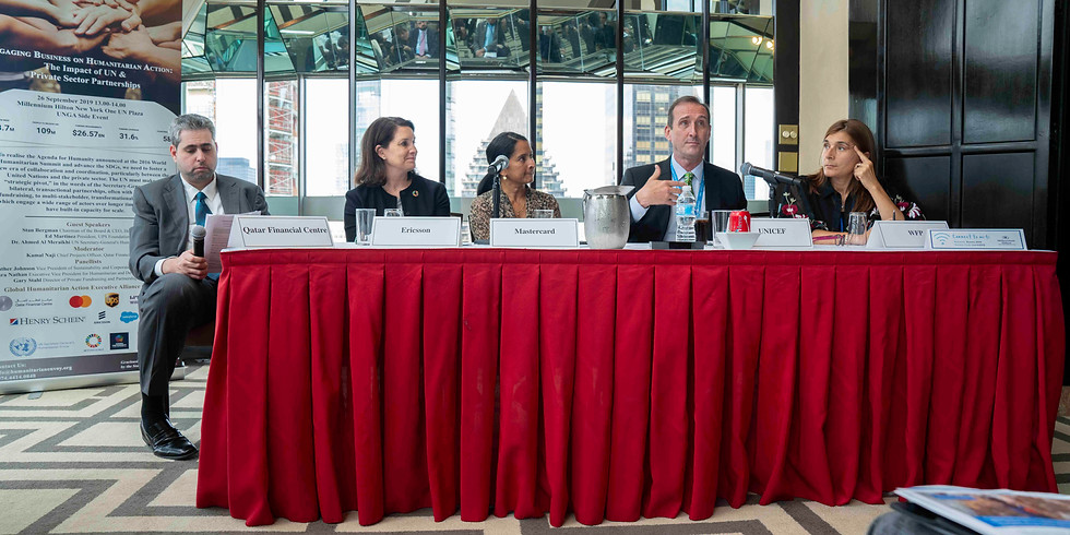 Engaging Business on Humanitarian Action: The Impact of UN & Private Sector Partnerships