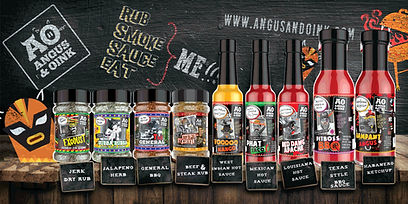 angus and oink products