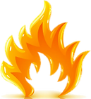 Flameboyant flame image