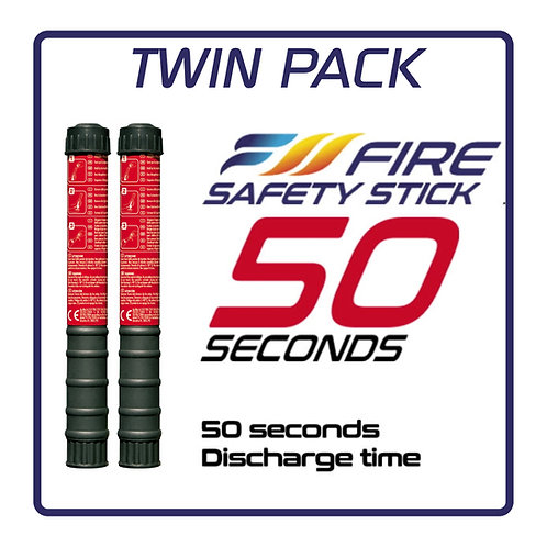 Fire Safety Stick (50s) TWIN PACK