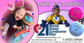 Donate for World Down's Syndrome Day (21st March 2018)