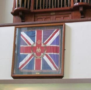 Regimental flag - Beds & Herts