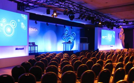 Corporate set build; Cannes