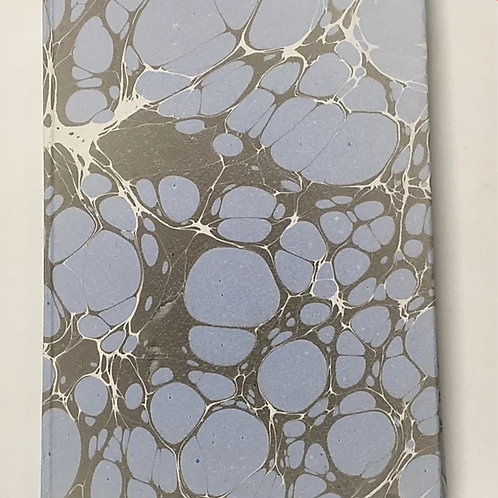 Marbled Paper Notebook A4