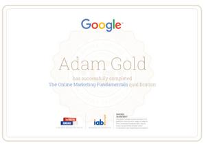 Google Qualified online marketing fundamentals