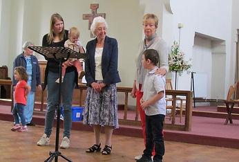 Kempston congregation birthdays