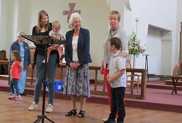 Kempston congregation birthdays
