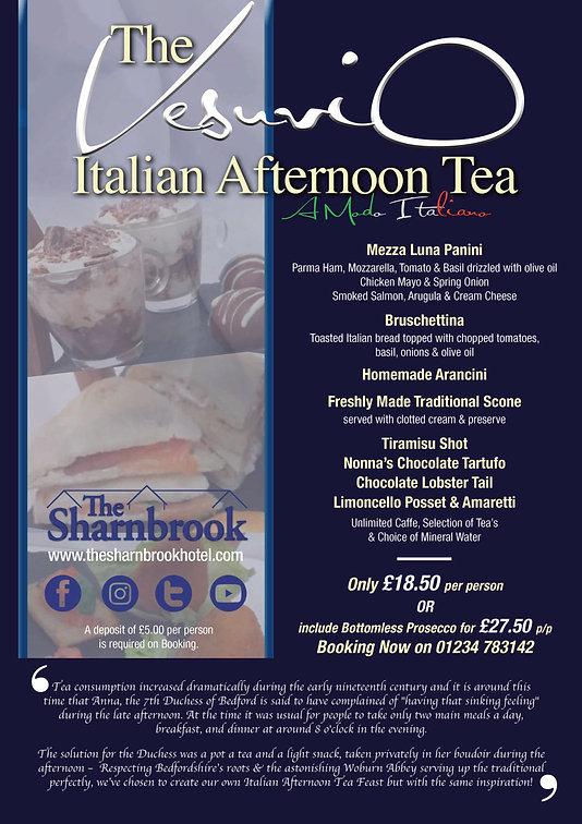 VesuviO Italian Afternoon Tea 2019