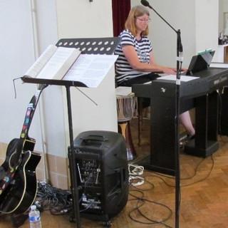 Our church pianist