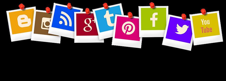 Social mdia icons