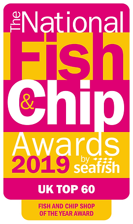 NFCA19 Top 60 Logo - Fish and Chip Shop