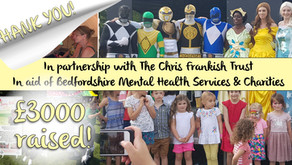 £3000 raised for the Chris Frankish Trust