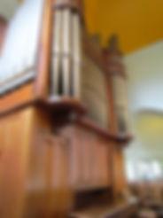 Church of the Transfiguration pipe organ