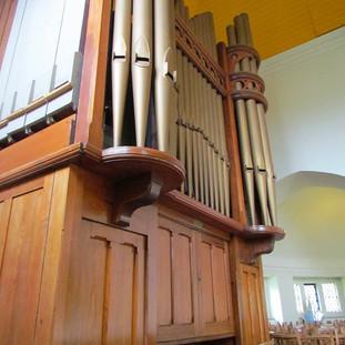 The church organ