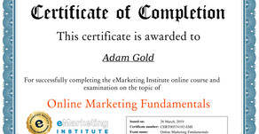 Online Marketing Fundamentals Course