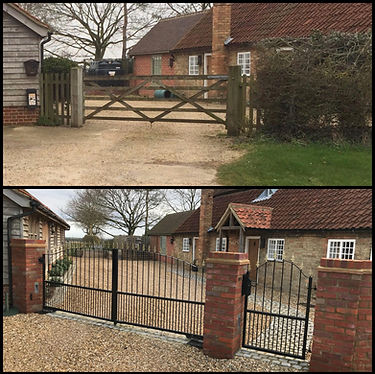 Residential gate automation by ACTON Security Ltd
