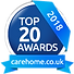 carehomes.co.uk top 20 awards 2018