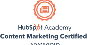 Hubspot Content Marketing Qualified