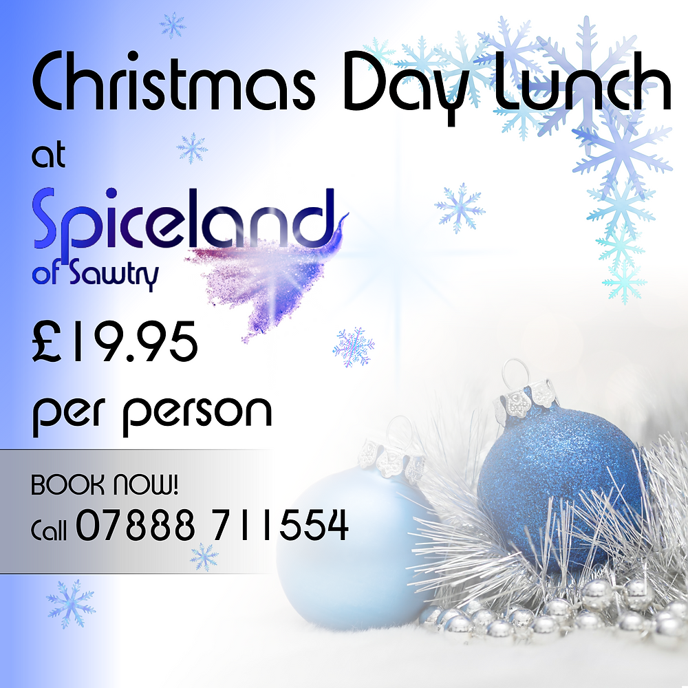 Christmas Day at Spiceland Buffet Sawtry