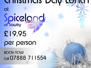 5 reasons to enjoy Christmas Day at Spiceland Buffet Sawtry