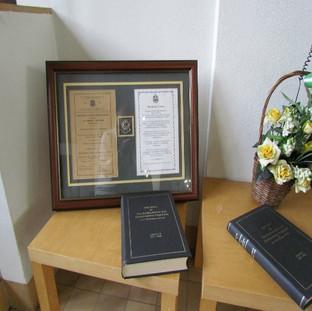 Beds & Herts regimental plaque