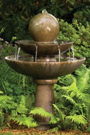 "46"" Tranquillity Sphere Spill Fountain"