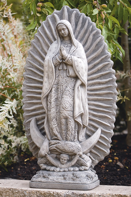 "29"" Our Lady of Guadalupe"