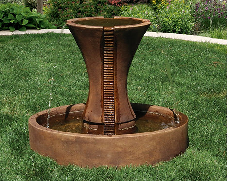 "30"" Candia Fluted Fountain"