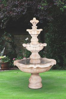 Renaissance Three-tier Fountain