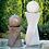 "Thumbnail: 42"" Contemporary Diagonal Fountain-Right"