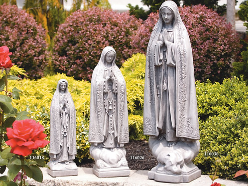 "34"" Our Lady of Fatima"