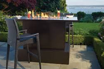 Regency Bar/Dining Fire Table
