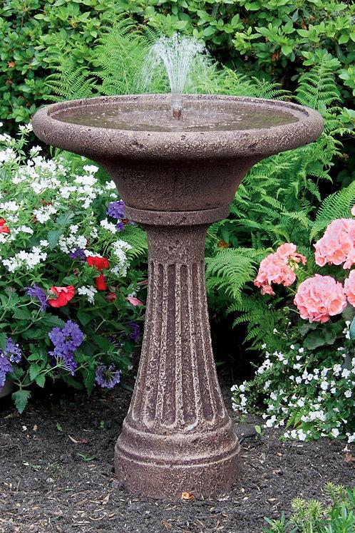 """30"""" Chelsea Fleur De Lis Fluted Fountain"""