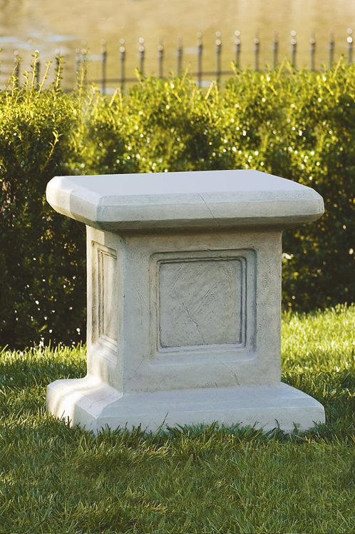 Large square pedestal
