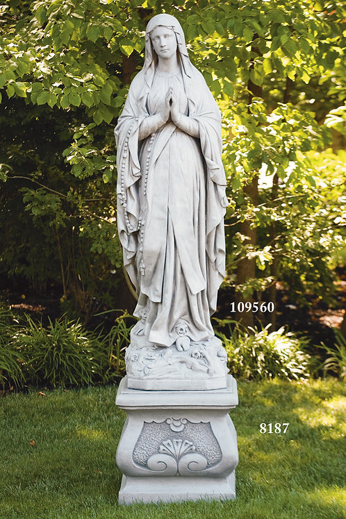 "60"" Our Lady Of Lourdes"