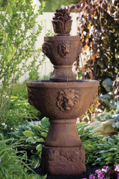 "59"" Two Tier Gabriel Fountain"